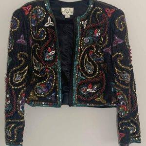 {M} Vintage Jeanette for St. Martin Sequin Jacket